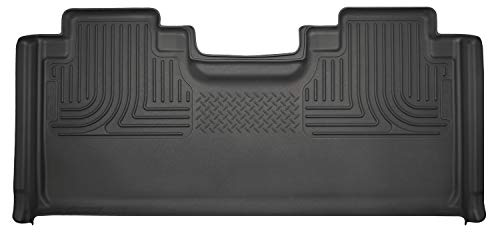 Husky Liners Fits 2015-19 Ford F-150 SuperCab, 2017-19 Ford F-250/F-350 SuperCab Weatherbeater 2nd Seat Floor Mat (Full Coverage)