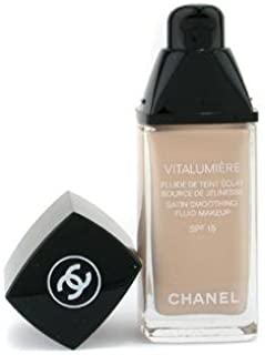 Chanel Vitalumiere Satin Smoothing Fluid Makeup SPF 15, 10 Limpide