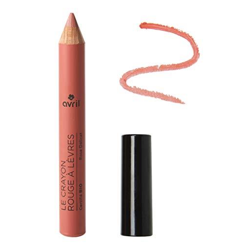 Avril – Le Crayon Rouge à Lèvres – Pintalabios, color rosa delicado,...