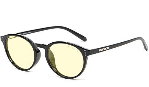 Gafas de Juego   Gafas de Bloqueo de luz Azul   Attache/Onyx by Gunnar   65% de protección de luz Azul, 100% de luz UV, antirreflectante para Proteger y Reducir la tensión y la sequedad de los Ojos