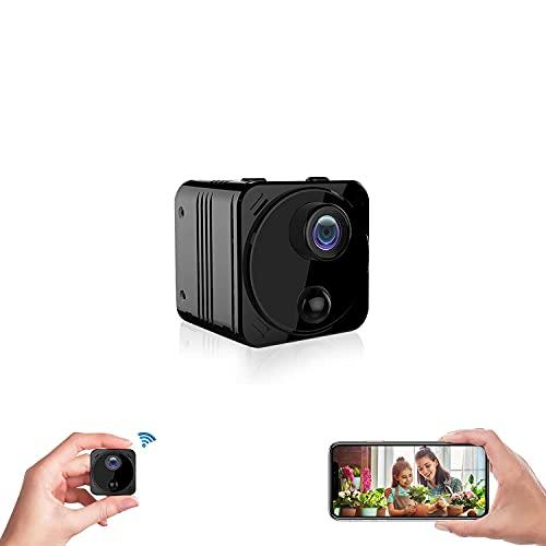 超小型カメラ 隠しカメラ 4K WiFiスマホ対応 180日待機15時間長時間録画/録音 160°広角 動体検知 充電式 リアルタイム遠隔防犯カメラ 監視カメラ ペットカメラ スパイカメラ 盗撮カメラ 玄関カメラ 室内カメラ 暗視カメラ 猫/犬/子供/老人見守りカメラ ネットワークカメラ WIFIカメラ ワイヤレスカメラ ELEPRO R8+