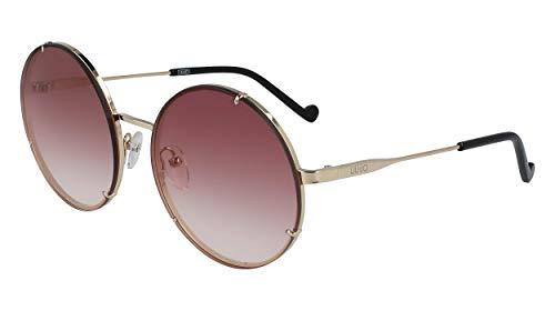 Liu Jo gafas de sol LJ121S 41755 710 oro marrón tamaño de 58 mm de mujer