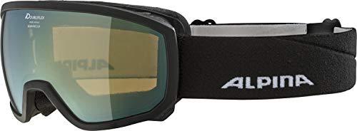 ALPINA SCARABEO JR. Skibrille, Kinder, black, one size
