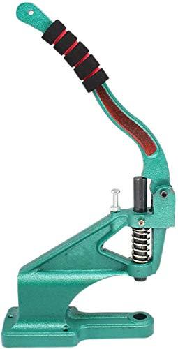 WedDecor Universele Green Hand Press Machine met Foam Stuur Cover Gripper, Grommets Eyelets Punch Tool voor DIY Project, Snap Fastener, Kleding, Leer Craft