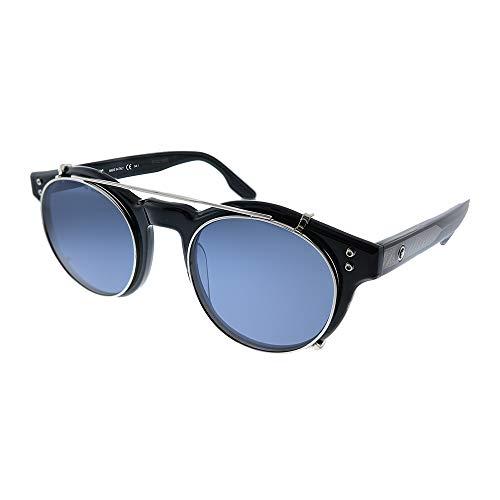 Mont Blanc Gafas de Sol MB0123S Black/Blue 49/22/155 hombre