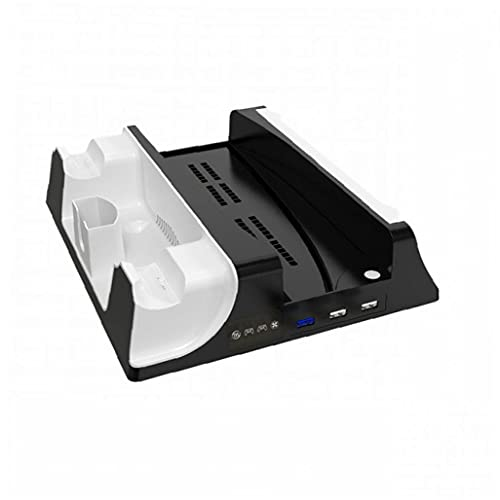 Soporte de carga para el host PS5 Host Multifuncional Fan de refrigeración Base de la base de la estación de muelles Accesorios de comunicación
