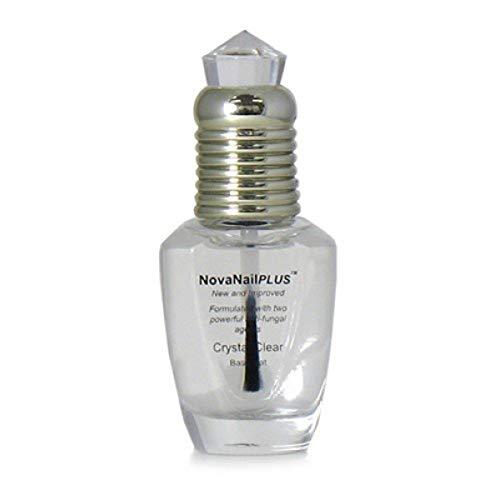 NovaNailPLUS Anti Fungal Nail Polish Clear Base Coat - Medicated Treatments for...