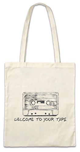 Urban Backwoods Cassette Hipster Bag Beutel Stofftasche Einkaufstasche