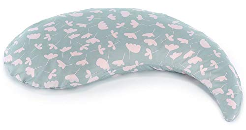 Theraline Yinnie Cojín de lactancia – Cojín para embarazadas & lactantes – Se puede utilizar como apoyo abdominal o cojín de lactancia – 135 x 35 cm – Relleno de microperlas