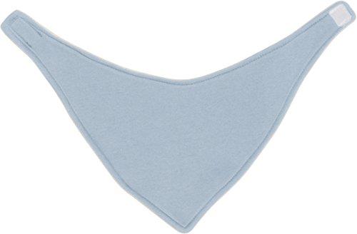 Playshoes Baby-Unisex Dreieckstuch uni Halstuch, Blau (17 bleu), Einheitsgröße