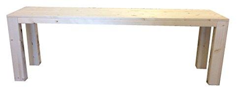 TOTAL WOOD 2012 Banco de Madera para jardín Interior Exterior 100x38.5x50H Disponible TANBIEN A Medida