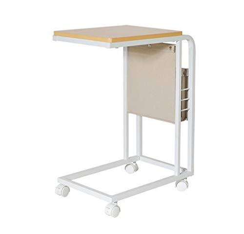 SZQ mobiele tafel, woonkamer, bank, zijde, bed, multifunctioneel, bureau, voor slaapkamer, nachtkastje, vrijetijdtafel, sterk en robuust Een