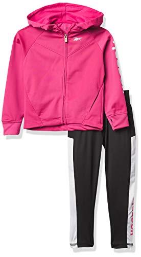 Reebok Trainingsanzug für Mädchen, 2 Stück L Shocking Pink