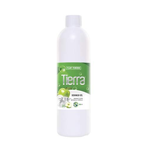 Tierra Dishwash Gel | Green Apple | Eco-friendly | Skin Friendly | Food grade | Paraben free | Plant Powered | 500 ml