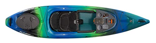 Wilderness Systems Pungo 105 | Sit Inside Recreational Kayak | Features Phase 3 Air Pro Comfort Seating | 10' 6' | Galaxy