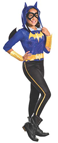 DC Comics - Disfraz de Batgirl licencia oficial para niña, infantil talla 5-6 años (Rubie's 620741-M)