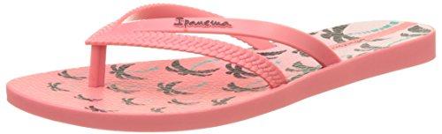 Ipanema Bossa Print Fem, Chanclas Mujer, Rose Pink, 38 EU