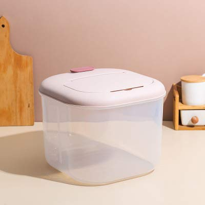 Fantastic Deal! BEIQIHHY Rice Container(Flip-Top), Pet Food Storage Container, Dust-Proof, Moisture-...