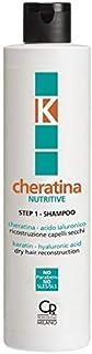 K-Cheratina - Nutritive Repair Shampoo con Cheratina - Ricostruzione a Base di Cheratina per Capelli Secchi e Rovinati - F...
