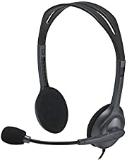 Logitech H111Stereo-Headset Siyah