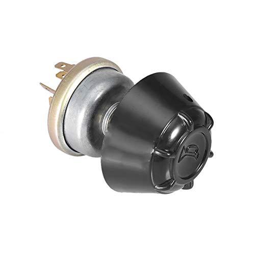 Interruptor de luz Antióxido y duradero Fácil instalación 12V Impermeable Interruptor de bocina, Interruptor de bocina, Espacio de ahorro de aluminio Landini LUCAS Case/IH para David Brown