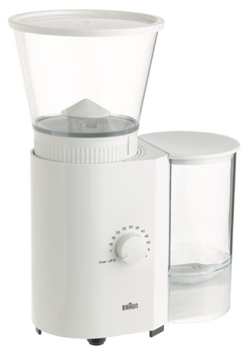 Braun Coffee/Espresso Mill, White