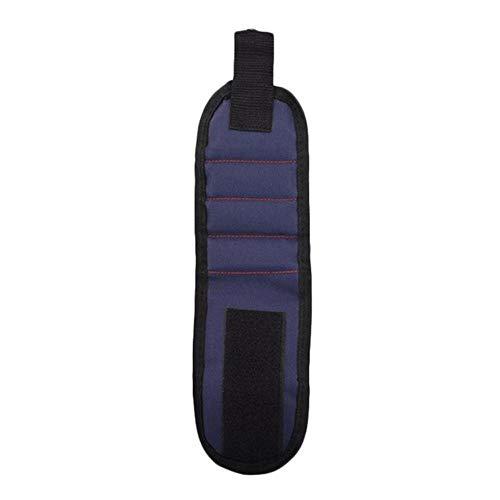 Magnetisches Armband Tragbare Werkzeugtasche Magnet Elektriker Handgelenk Werkzeug Gürtel Schrauben Nägel Bohrer Armband Für Repair Tool, wie abgebildet, Australien