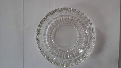 cendrier Xuan - worth having Transparent Couleur verre rond verre simple Créatif Salon Modélisation de cadeaux Simple Cristal Diamètre transparent 15cm Haut 4cm