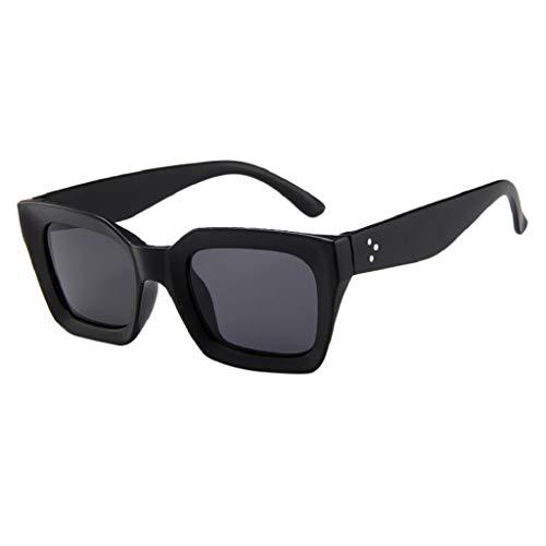 LUCKYCAT klassische Brille Metallgestell Brillenfassung Vintage Brille Dekobrillen Retro Sonnenbrille Pornobrille Pilotenbrille Sonnenbrillen
