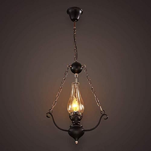 E27 Ajuste de la base para la isla Dormitorio de la cocina Decoración interior Luces Adjuvintage Glass Industrial Colgante Luz de Luz de Luz Restaurante Bar Cafetería Tienda Chandelier Lámpara Creativ