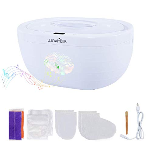 Waxkiss Paraffin Wax Machine 3000ml Capacity with Bluetooth Music Player Professional for Hand and...