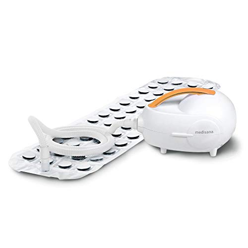 Medisana MBH Luftsprudelbad, Whirlpoolmatte mit Aromaspender, 3 Intensitätsstufen, für jede Badewanne geeignet, mit Fernbedienung, für die Lockerung von verspannter Muskulatur, 2. Generation