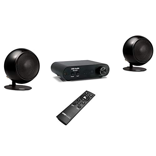 Orb Audio: Booster EZ Voice Soundbar and TV Speaker System with Bluetooth and EZ Voice Dialogue Technology - Better Than TV Sound Bar - Lifts Dialogue - Provides Crisp, Detailed Sound