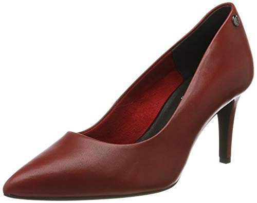s.Oliver Damen 5-5-22421-23 Pumps, Rot (Red Leather 511), 41 EU