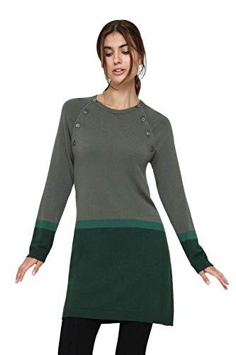 Milker Look - Robe d'allaitement Robe Grossesse Green Taille S