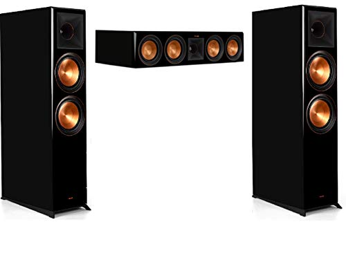 Purchase Klipsch RP-8060FA 3.0 Home Theater System Bundle with RP-504C Center Channel - Piano Black
