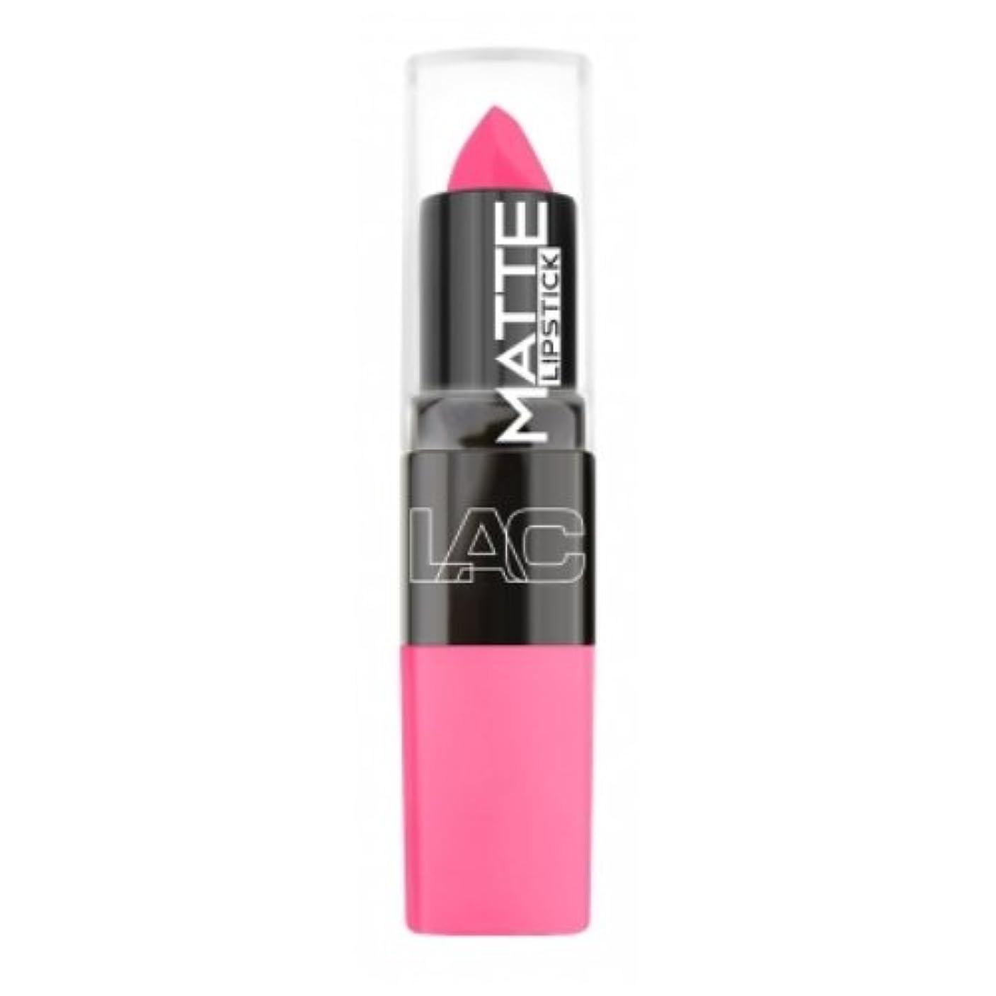 パイプ招待不可能な(3 Pack) LA Colors Matte Lipstick - Charmed (並行輸入品)