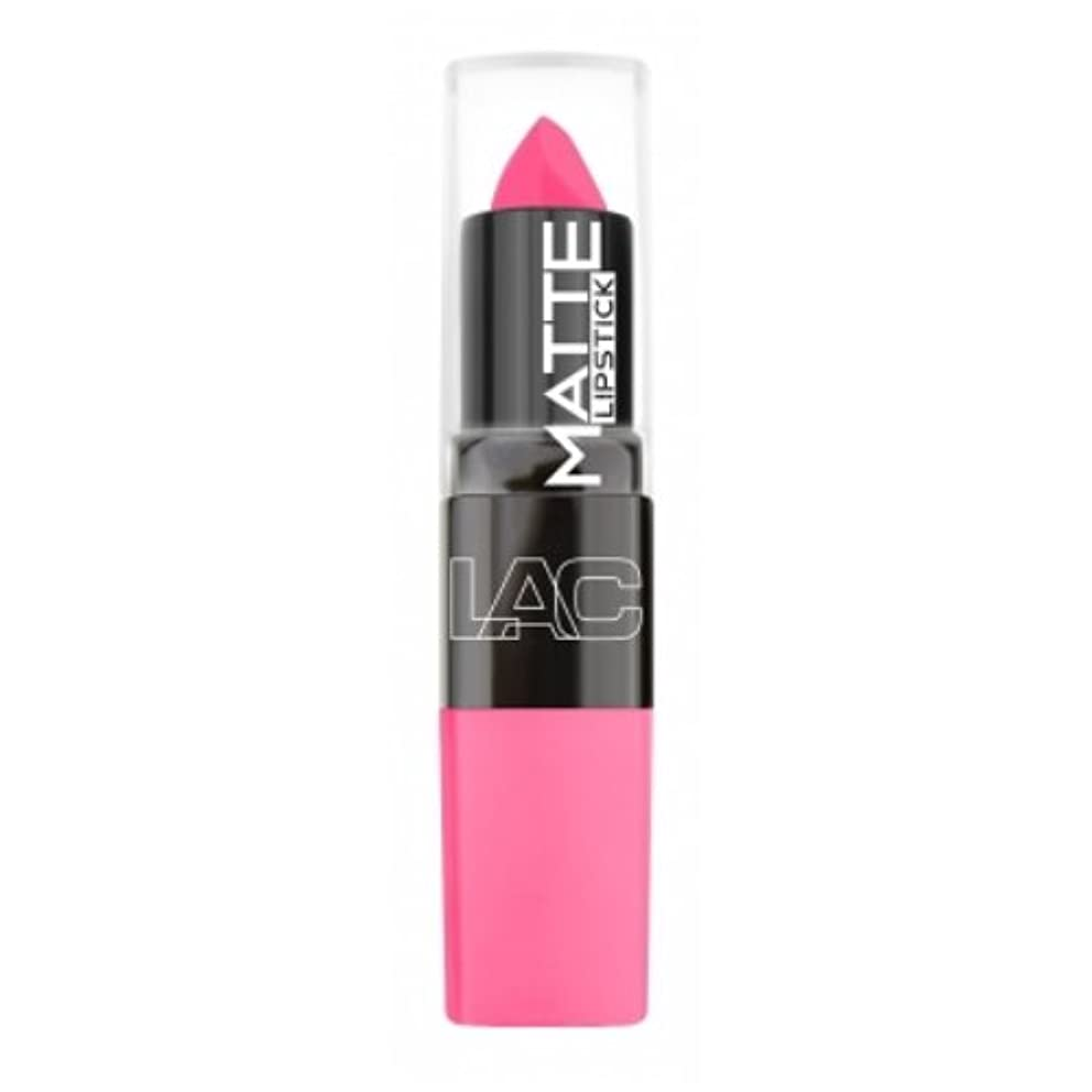 使役ライオン警報(3 Pack) LA Colors Matte Lipstick - Charmed (並行輸入品)