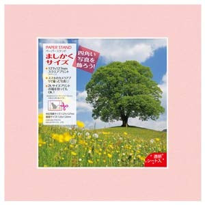 HAKUBA fotolijst papier standaard vierkante maat (127~127mm) roze MPS-MS127PK