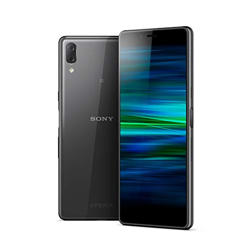 Sony Xperia L3 5.7 Inch 18:9 Full HD+ display Android 8 UK SIM-Free Smartphone with 3GB RAM and 32GB Storage – Black