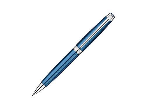 Caran d'Ache CD4769.168 0.7 mm Leman Grand Blue Silver Plated/Rhodium Coated Mechanical Pencil