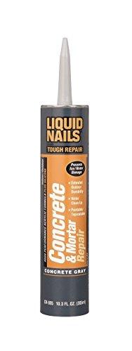 Liquid Nails CR-805 10.3 Oz Concrete Mortar Repair Cartridge (2 Pack)
