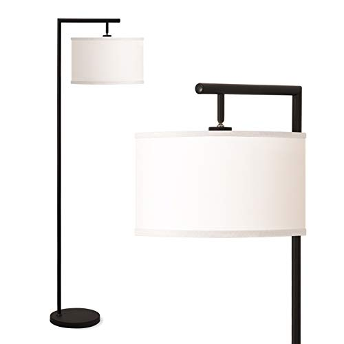 Addlon Montage Modern Floor Lamp for Living Room Lighting - Bedroom & Nursery Standing Accent Lamp, Mid Century, 5' Tall Pole Light Overhangs Lamp,...