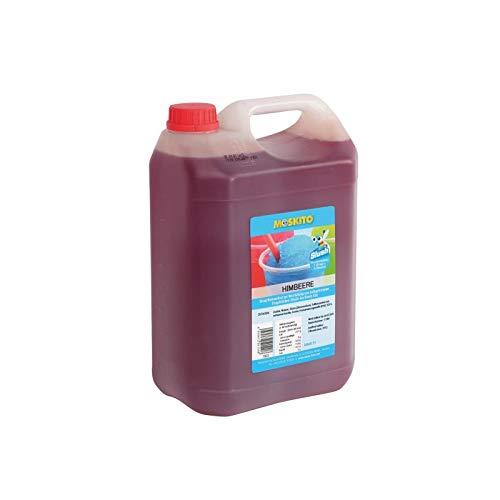 Sirup Slush Konzentrat Slush Ice / Slush AZO FREI Eis Himbeere 5 Liter Ergibt 30 Liter Slush