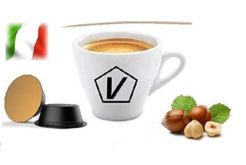 Caffè Shop Compatibile con Capsule Lavazza A Modo Mio, Capsule Miscela Nocciola (20 Capsule)