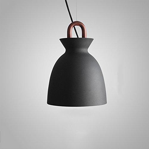 Hines Moderne Einfache 1-Licht Eisen Einstellbare hängende Pendelleuchte Postmodern Kreativität Seltsame Starke Küche Restaurant Schlafzimmer Nachttischlampe Kronleuchter Deckenleuchte Mit Atmung Loch