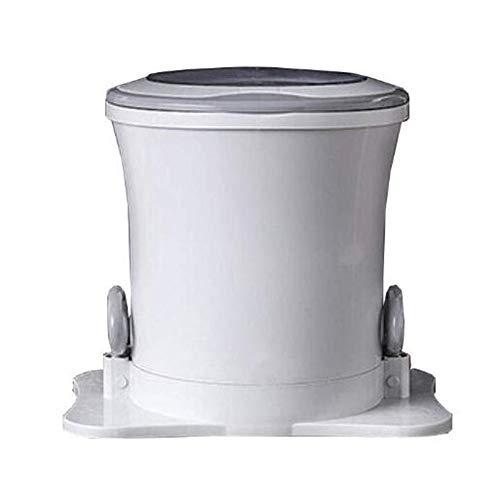 HRD Mini Lavadora portátil no electrico Estudiante Dormitorio Secadora con Doble asa, Familia/Camping/Viaje/apartamento