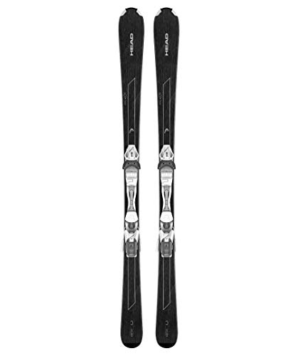 HEAD Damen Skier Easy Joy inkl. Bindung Joy 9 AC SLR schwarz/Weiss (910) 156
