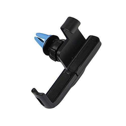 YSHtanj Air Vent Telefoonhouder Interieur Decoratie Telefoonhouder 360 graden Rotatie Air Vent Mount Auto Telefoonhouder voor iPhone Samsung Huawei - Zwart + Blauw