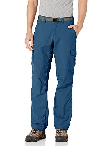 Columbia Cascades Explorer Pantalon Homme, Carbone, FR Fabricant : Taille 34